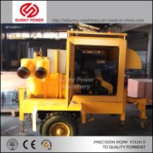 5-8inch Wasser-Pumpen-Einheit mit Diesel-Motor für Landwirtschaft Bewässerung
