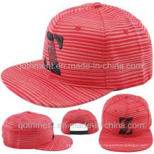 Plana de Bill pantalla de impresión bordado deporte gorra de béisbol (TMFL6345-1)