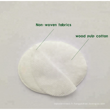 Coussin pour les yeux en tissu non tissé 100% coton super absorbant
