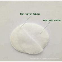 Almofada de olho de tecido não tecido superabsorvente 100% algodão