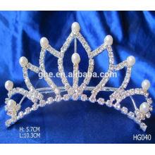 La calidad garantizó directamente al por mayor los peines de la tiara de los cabritos