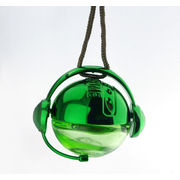 Green Round Fragrance Hanging Car Perfume Air Freshener For Promotion Gifts Ts-cp014