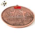 Produits promotionnels de taekwondo métal souvenir de sport médaille personnalisée