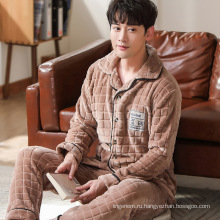 Мужская одежда для сна с карманами