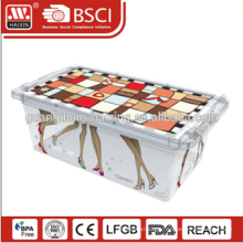HAIXING Custom Rectangle Clear Acrylic Shoe Boxes Factory