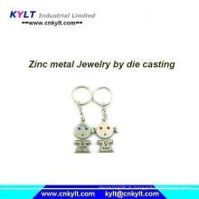 Metal zinco Zamak injeção moda jóias