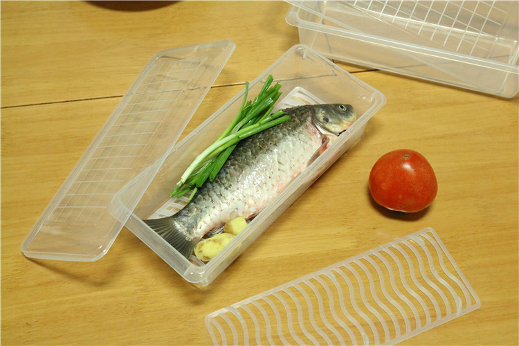bpa free rectangular pet food container
