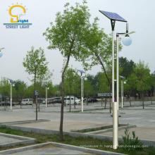 Le jardin solaire en aluminium de puissance élevée de Morden a mené le prix léger léger de réverbère solaire