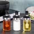 Sazonador Honey Spice Jar Con Cuchara Cepillo De Aceite