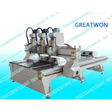 Multi Head CNC Router for Woodworking