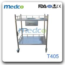Тележка для больниц из нержавеющей стали T405