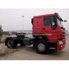 Caminhão do trator do eixo 4X2 do dobro 20ton-30ton (ZZ4187N3511W)