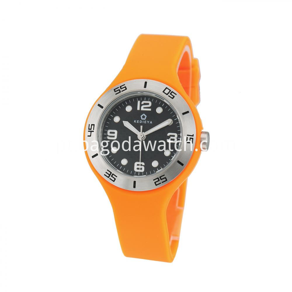 Women S Silicone Band Watches