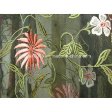 Allover Embroidered Organza Fabrics