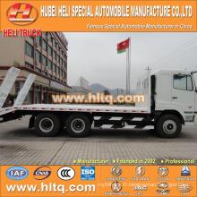 CAMC 6X4 camion à caisse plate de 20 km 270 ch avec une haute performance pour l'exportation.