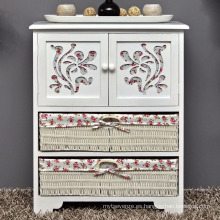 Rustic house chest of drawers hallway bathroom cabinet