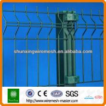 PVC-beschichtetes, klares Panel-Draht-Zaun-Panel