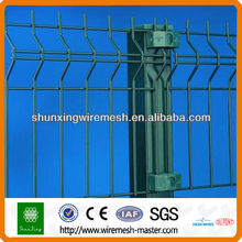 PVC Coated Clear Panel Wire Fence Panel