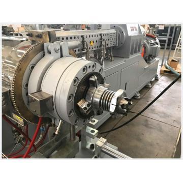 Extrusora de máquina de extrusão paralela de plástico PE / PVC