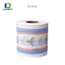 Film de PE de film de rétrécissement élevé de film plastique respirable