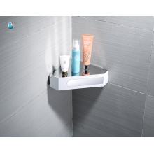ABS blanco accesorios de baño multifunción estante de almacenamiento de ángulo