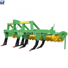 Rototiller subsoiler plough for farm tractor