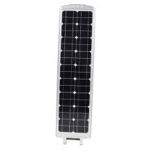 Todo en uno 60W luz de calle LED solar