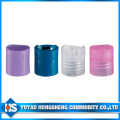24 415 PP Blue Disc Top Cap for Pet Bottle