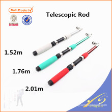 TSR067 Cheap fiberglass children fishing rod telescopic pole