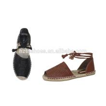 Fashion europe style summer sandals women espadrille shoes flat