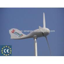 china small wind power turbine generator 300W,suitable for street light