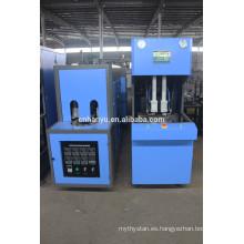 Máquina de moldeo de soplado por estiramiento semi automática / máquina de moldeo por soplado