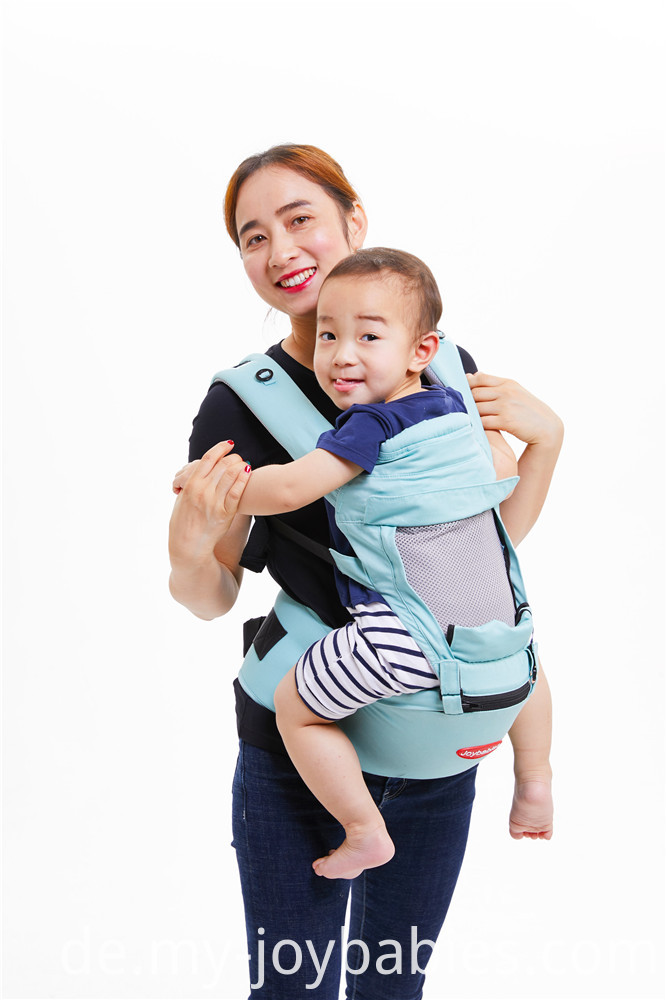 Summer cool mesh baby hip seat carrier
