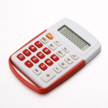 White Small Plastic Calculator