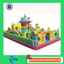 2014 Los niños más populares inflables puentes, inflables bouncers, diversión inflable ciudad