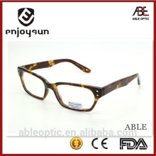2015 hotselling demi classic acetate hande made spectacles optical frames eyewear eyeglasses