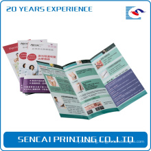 full color printing brochure three sheep paper folder leaflet printing