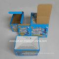 Impressão Personalizada Papel Ondulado Caixa De Embalagem Dobrável E-Flute Corrugated Box