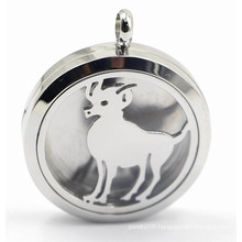316L Stainless Steel Perfume Diffuser Locket Pendant