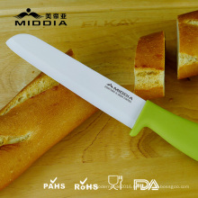 "6"" Ceramic Slicing Knife Bread Knife"