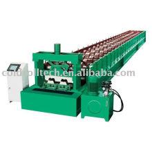 Plataforma de metal de piso de construção que faz a máquina