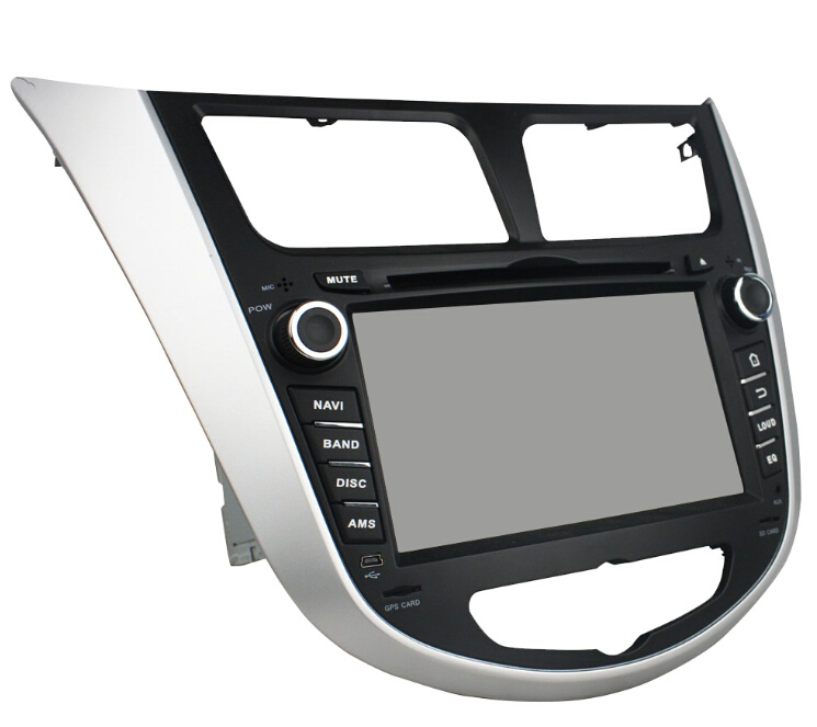 Hyundai Verna Accent Solaris Android Car DVD Player