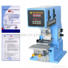 Desktop mini single color pad printing machine