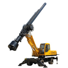 YKR-T360 Wheel mounted Rotary Drilling Excavator