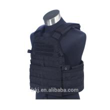 Military Black Gear Molle Paintball Combat Weiche kugelsichere Rüstung Taktik Weste
