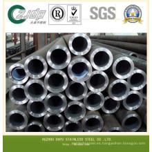 Tubo de acero inoxidable sin costura de primera calidad 304
