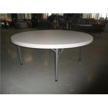 Mesa redonda dobrável de 6FT para uso em retalho