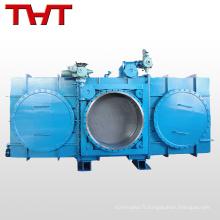 vanne électrique fermée de type fermé pour le gaz de haut fourneau