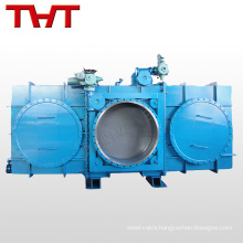 closed type electric Blind valve for blast furnace gas