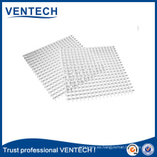 Sistemas HVAC Ventilación Eggcrate Rejilla Hoja de aluminio Eggcrate Core